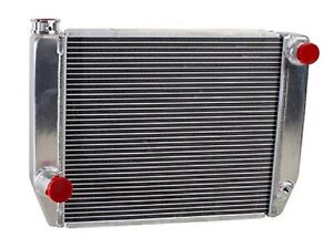 Griffin 1 26181 X Aluminum Universal Fit Radiator For Ford Dodge Racer