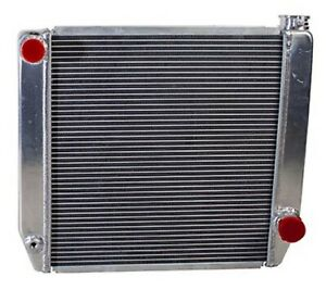 Griffin 1 25182 x Aluminum Universal Fit Radiator For Chevy Dodge Racer