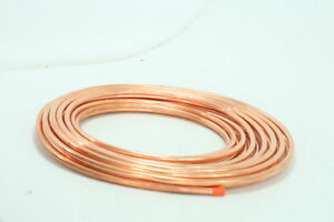 Mueller Industries Ls03060 Copper Tubing Actual Od Type L Soft 3 8 Id X 60