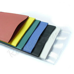 14m 7 Color Clear 50mm Tube Sleeving Heat Shrink Tubing