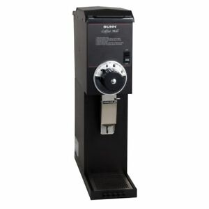 Bunn 22100 G3hd Black Bulk Coffee Grinder With 3 Lb Hopper
