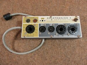 Coletronics B 16 Tube Tester Upgrade Adaptor Use With Any Tube Tester