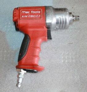 Mac Tools Aw280qa 3 8 Drive Impact Quiet Composite Air Free Shipping