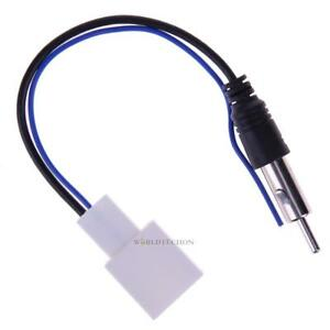 Car Radio Stereo Cd Player Antenna Adapter Adaptor Audio Cable Female For Toyota