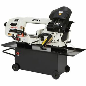 Klutch Metal Cutting Band Saw 7in X 12in 1 1 2 Hp 115 230v