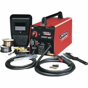 Lincoln Electric Handy Mig Portable Welder mig Flux cored k2185 1