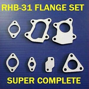 Rhb31 Vz21turbo Flanges Seven Piece Complete Set Bike Quad