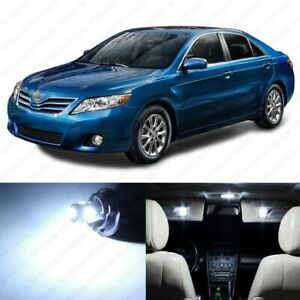 12 X White Led Interior Lights Package For 2007 2011 Toyota Camry Pry Tool