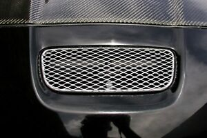 Fits Toyota Celica 2000 2001 Grillcraft Silver Mesh Grille Insert Upper