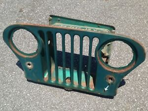 Jeep Cj5 Factory Grill Willy S Free Shipping Grille