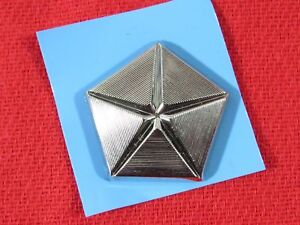 Dodge Chrysler Plymouth Pentastar Silver Emblem New Oem Mopar