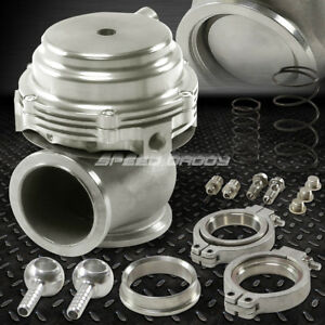 44mm Water Cooled 13psi V band Silver Turbo Manifold Exhaust External Wastegate