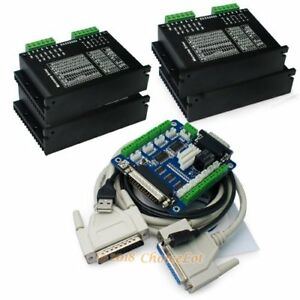 Cnc Kit 4 Axis M542h Stepper Driver For Nema17 23 34 5 Axis Breakout Board