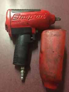 Snap On Tools Mg725 Super Duty 1 2 Drive Impact Air Wrench W Boot