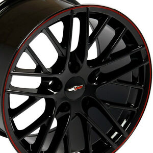 17 Wheels For Camaro Firebird Years 1993 2002 17x9 5 Black Rims Set Of 4