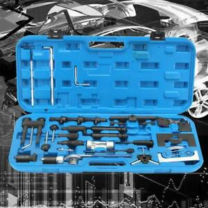 36pc Adjust Diesel Engine Belt Locking Timing Tool Kit For Vw Adui A2 A3 A4 A6