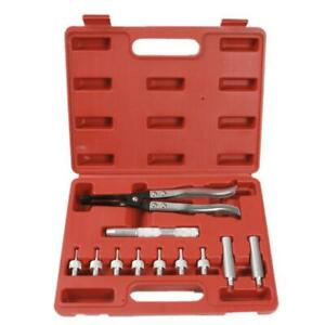 Auto Valve Stem Seal Plier Seating Pliers Remover Installer Tool Kit Set