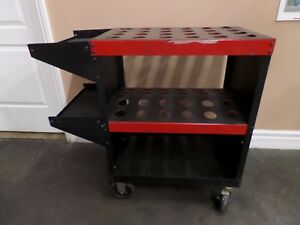 Hout Toolscoot 40 Taper Holds 48 Tool Holders Bottom Shelf And 2 Side Trays