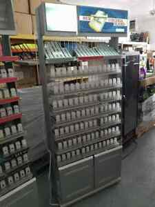 Used Altria Cigarette Retail Store Display Rack 7ft X 3ft Local Pickup Only