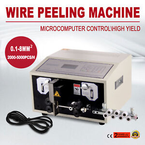 Computer Wire Peeling Stripping Cutting Machine Automatic 300w Mechanical Good