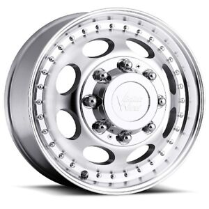 19 5x6 75 Vision 181 Hauler Dually 8x210 Et 143 Machined Rims New Set 4