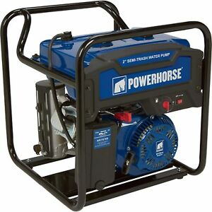 Powerhorse Extended Run Semi trash Water Pump 2in Ports 7860 Gph