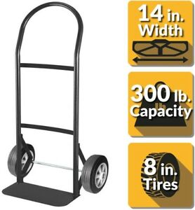 Black Heavy Duty Steel Hand Truck Appliance Boxes Moving Load Dolly Cart Trolley