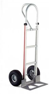 500 Lb Capacity Heavy Duty Lightweight Aluminum Hand Truck Dolly Cart Trolley
