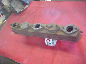 Vintage Gm Chevy Gmc Pontiac Intake Manifold 5 One Barrel Carburetor Rat Rod 50s