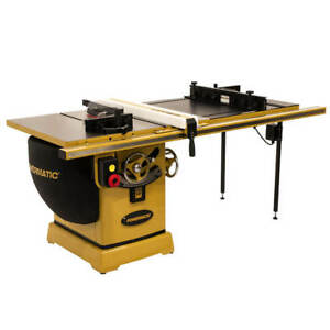 Powermatic Pm25150rk 230v 50 inch 5 Hp Rip Table Saw W Accu fence And Lift