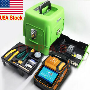 Ai 8 Sm mm Ftth Fiber Optic Welding Splicing Machine Fiber Fusion Splicer Kits