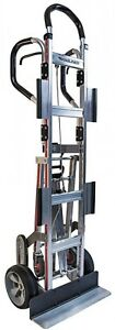 Heavy Duty Stair Climber Appliance Hand Truck Moving Dolly Cart Utility Trolley