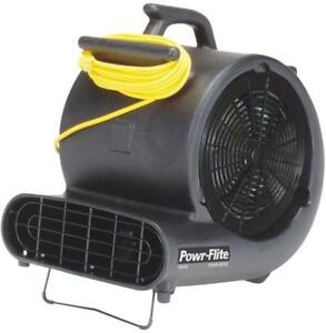 New Powr flite Pds1 Air Blower 4 8 A 1 2 Hp 3 Speed Air Mover Fan