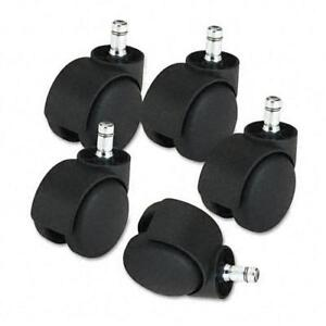 Master Caster Deluxe 2 2 inch Matte Black Casters