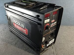 Lincoln Electric Ln 25 Ironworker Portable Wire Feeder 81077