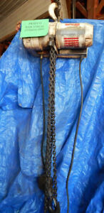 Coffing 3 Ton Electric Hoist With Chain And Hook