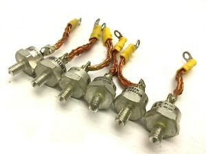 Lot Of 6 Semikron Skn2f50 06 Fast Recovery Diodes 600 Volt 50 Amp 1 4 28 Stud
