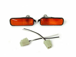 Jdm Amber Dome Type Fender Side Marker Light Wiring For 1996 2000 Honda Civic Ek
