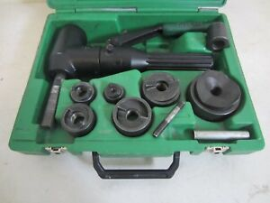 Greenlee 7906sb Quick Draw 90 Hydraulic Punch Driver Tool 1 2 2 1 2 Conduit