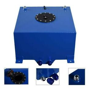 General 10 Gallon 40l Aluminum Race drift Fuel Cell Tank Level Sender Blue