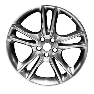 Reconditioned Oem 19x8 Alloy Wheel Black Hypersilver 560 03962