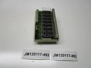 Wieland Bamberg Rab fss 8 87 220 1953 3 Relay Board New Old Stock