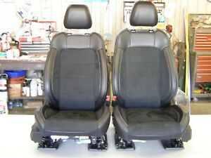 Oem Ford 2015 2018 Mustang Shelby Gt350 Leather Seats Set 2016 2017 Take out Nos