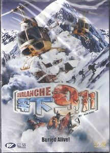 Avalanche DVD Snow Andrew Lee Potts Adam Croasdell NEW