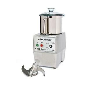 Robot Coupe R602 Vv B 7 Qt Commercial Food Processor