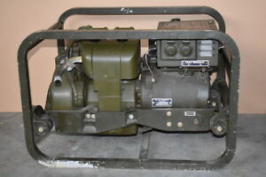 Generator 1 5kw 120 240 1ph Gas Engine Mep 015a Load Tested Voltage Drop