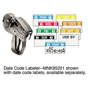 Monarch Pricemarker Model 1131 1 line 8 Characters line 44 X 78 Label Size