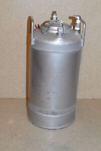 Alloy Product T316 Stainless Pressure Tank 16 Tall 8 Diameter tk2