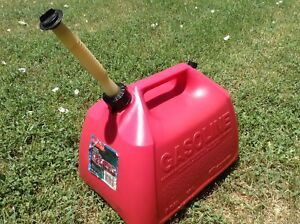 Vintage Gott Rubbermaid 5 Gallon Gas Can