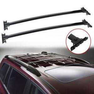 For Toyota 2008 2013 Highlander Car Top Roof Rack Cross Bars Side Rail Luggage